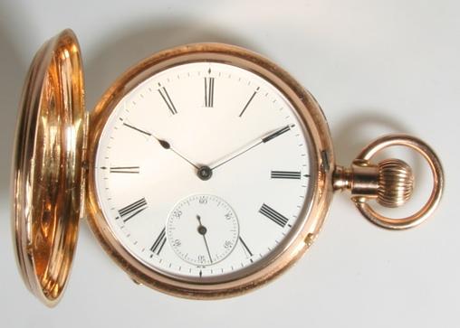 Relógio DUF, fabricado pela A. Lange & Söhne, e revendido por Dürrstein & Company