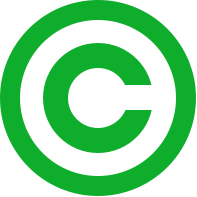 Datei:Green copyright svg.png