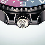GMT-Master II white gold Triplock Winding Crown
