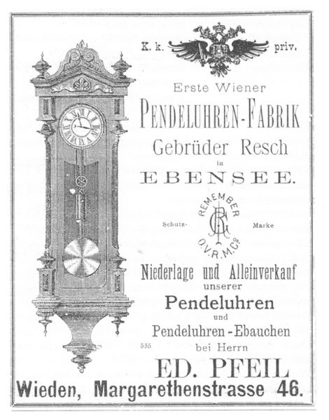 Datowanie francuskich zegarów